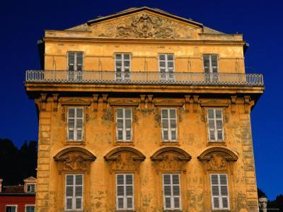 Building on Cours Saleya, Nice, Provence-Alpes-Cote d'Azur, France by Dan Herrick