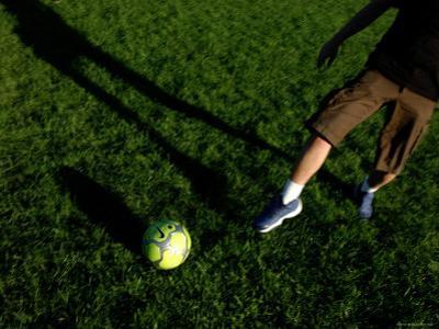 Game of Soccer at Central Park, New York City, New York by Dan Herrick