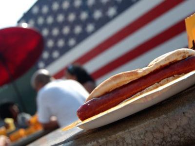 Hot Dogs at Nathan's, Coney Island, New York City, New York by Dan Herrick