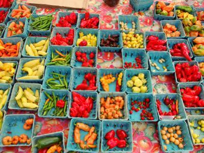 Produce at Union Square Greenmarket, New York City, New York by Dan Herrick