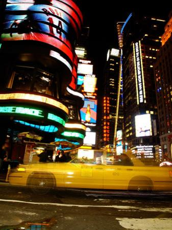 Traffic, Times Square, New York City, New York by Dan Herrick