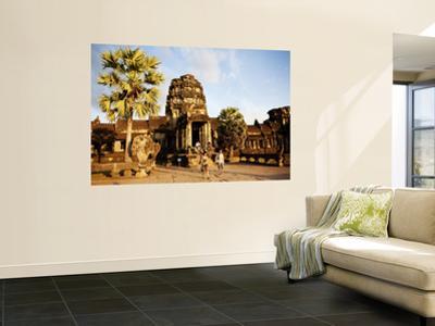 West Gate of Angkor Wat Temple by Dan Herrick