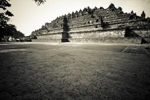 9th Century Monument of Borobudur in Java, Indonesia by Dan Holz