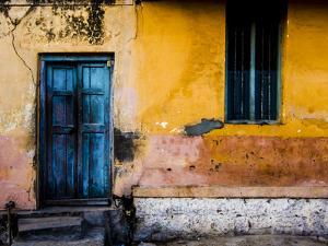 A Doorway in the City of Mysore, India by Dan Holz