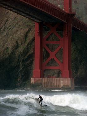 San Francisco Bay Surfer by Dan Krauss