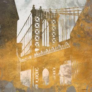 NY Gold Bridge at Dusk II by Dan Meneely