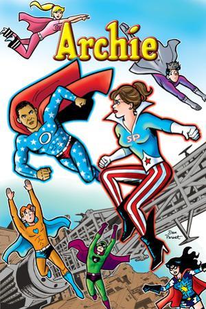 Archie Comics Cover: Archie No.616 Barack Obama and Sarah Palin Campaign Pains Part 1 (Variant)