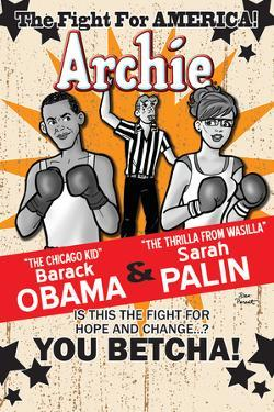 Archie Comics Cover: Archie No.617 Barack Obama and Sarah Palin Campaign Pains Part 2 (Variant) by Dan Parent