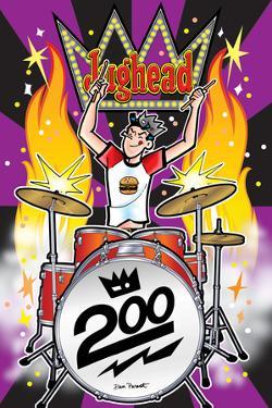 Archie Comics Cover: Jughead No.200 by Dan Parent