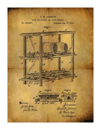 Aging Whiskey 1882