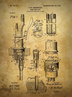 Beer Keg Tap 1903 by Dan Sproul