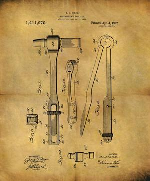 Blacksmith's Tool 1922 by Dan Sproul