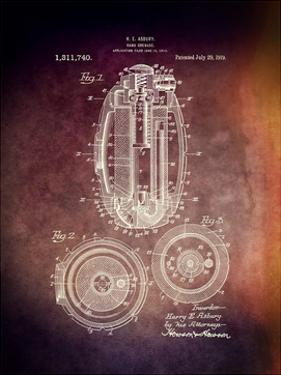 Hand Grenade, 1919 by Dan Sproul
