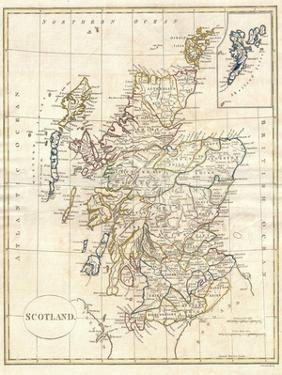 Map of Scotland by Dan Sproul