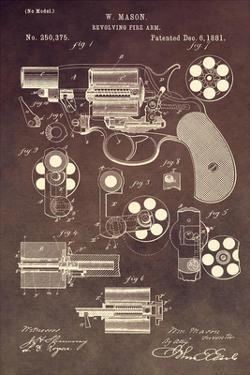 Revolving Firearm, 1881-Brown by Dan Sproul
