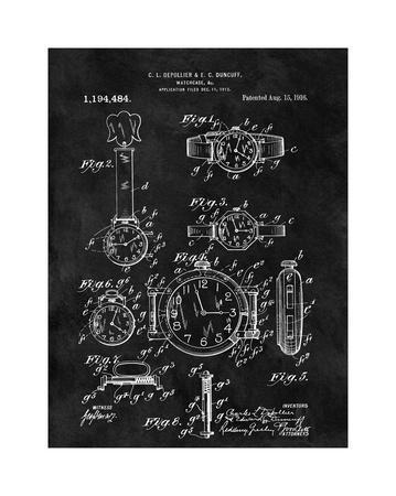 Watch Case, 1916- Black