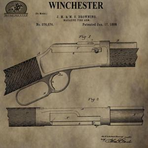 Winchester Magazine Fire Arm, by Dan Sproul