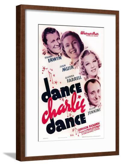 Dance Charlie Dance--Framed Giclee Print