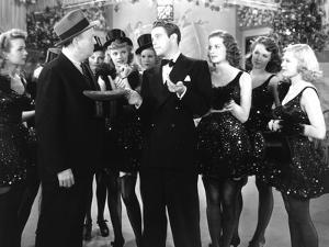 Dance, Girl, Dance, Robert Emmett O'Connor, Lucille Ball, Louis Hayward, Maureen O'Hara, 1940