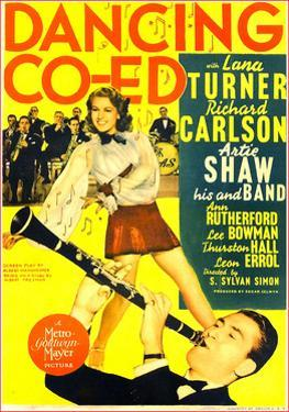 Dancing Co-ed, Lana Turner, Buddy Rich, Artie Shaw, 1939