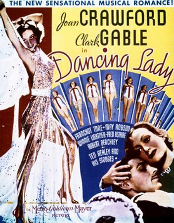 Dancing Lady - Movie Poster Reproduction