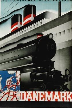 Danemark Travel Poster