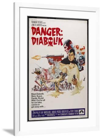 Danger: Diabolik--Framed Poster