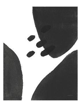 Abstract Tidepool I Black by Danhui Nai