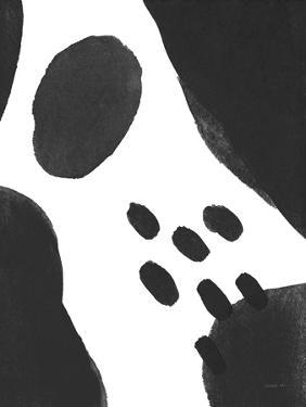 Abstract Tidepool II Black by Danhui Nai