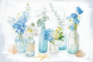 Beach Cottage Florals I by Danhui Nai