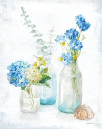Beach Cottage Florals III by Danhui Nai