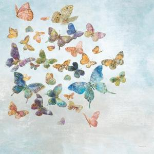 Beautiful Butterflies v3 Sq Light by Danhui Nai