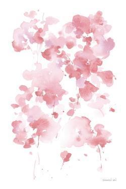 Cascading Petals I Pink by Danhui Nai