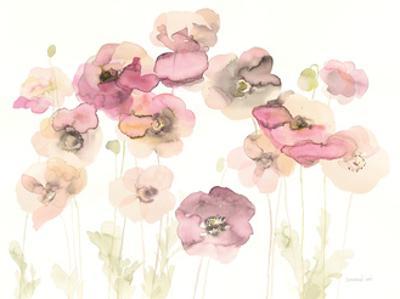 Delicate Poppies by Danhui Nai