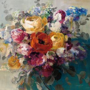 Fall Bouquet Orange Rose by Danhui Nai