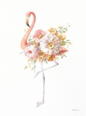 Floral Flamingo II by Danhui Nai