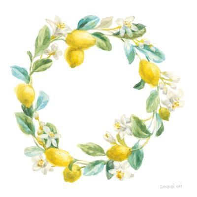 Floursack Lemon V on White by Danhui Nai