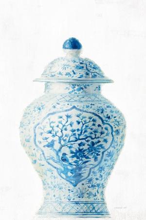 Ginger Jar I on White Crop by Danhui Nai