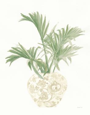 Palm Chinoiserie II Sage by Danhui Nai