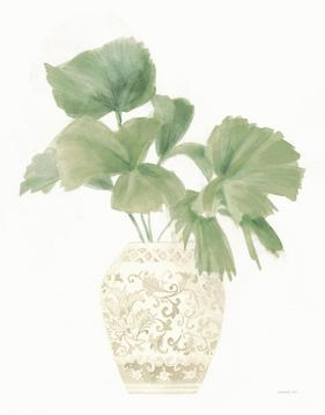 Palm Chinoiserie IV Sage by Danhui Nai