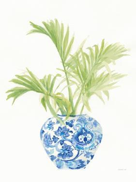 Palm Chinoiserie White II by Danhui Nai