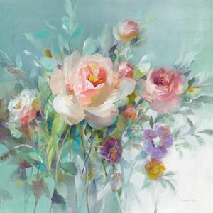 Summer Garden Roses by Danhui Nai
