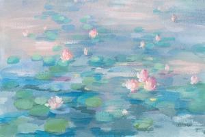 Sunrise Waterlilies Crop by Danhui Nai