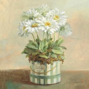 Tres Chic Daisies by Danhui Nai
