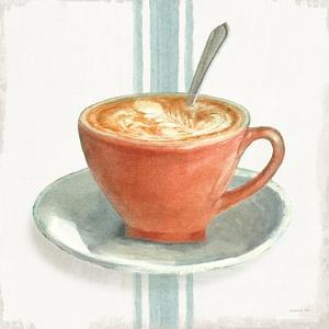 Wake Me Up Coffee III With Stripes No Cookie by Danhui Nai
