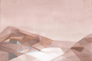 Warm Geometric Mountain by Danhui Nai