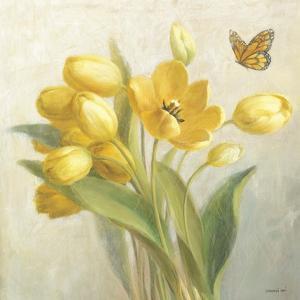Yellow French Tulips by Danhui Nai