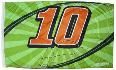 Danica Patrick One-Sided Flag with Number