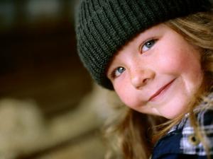 Portrait of a Young Farm Girl by Daniel Boag