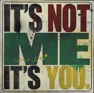 It's Not Me, It's You by Daniel Bombardier